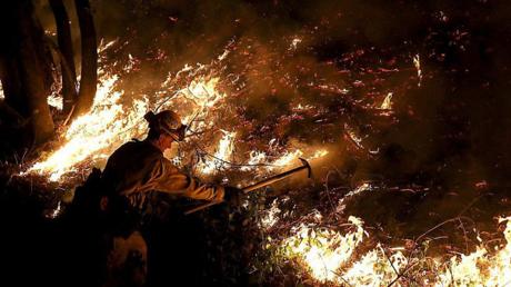 صورة مرعبة لآثار حرائق كاليفورنيا!