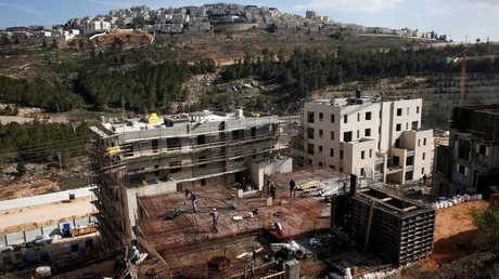 مستوطنة في الأراضي الفلسطينية