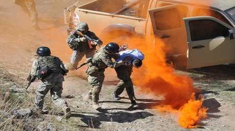 أرشيف - تدريبات عسكرية مشتركة لقوات بلدان منظمة شنغهاي للتعاون