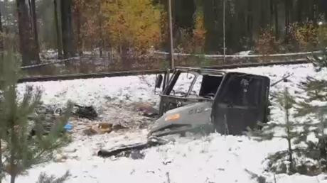 اصطدام قطار وآلية مدرعة في فنلندا