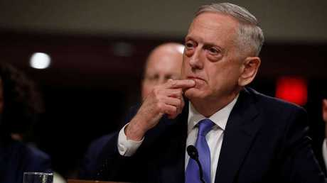 وزير الدفاع الامريكي جيمس ماتيس