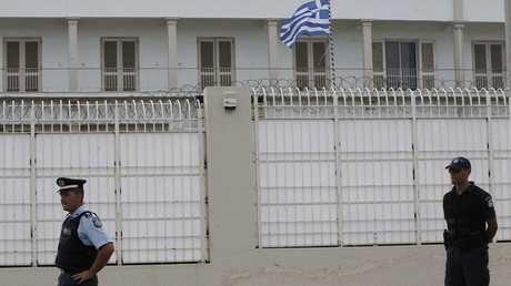 الشرطة اليونانية-  صورة أرشيفية
