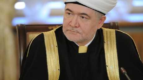 الشيخ راوي عين الدين رئيس الادارة الدينية لمسلمي روسيا