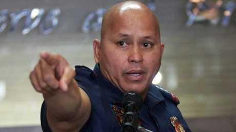 الجنرال رونالد ديلا روسا قائد الشرطة الفلبينية