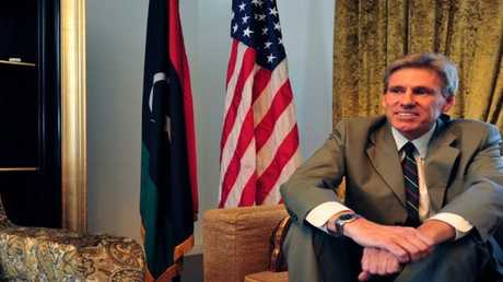 السفير الأمريكي في ليبيا كريس ستيفنز الذي قتل في هجوم 2012