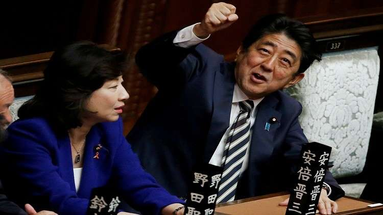 شينزو آبي رئيسا لوزراء اليابان من جديد
