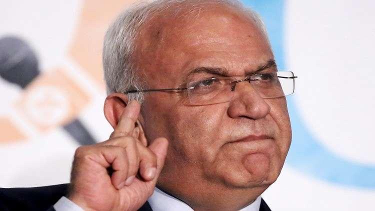 عريقات: لا عار يضاهي عار الاحتفال بوعد بلفور