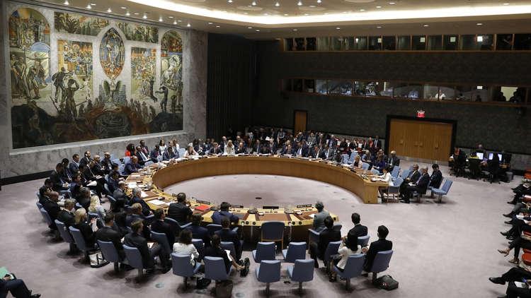 مشروع قرار روسي في مجلس الأمن بشأن تمديد آلية التحقيق في استخدام الكيميائي بسوريا