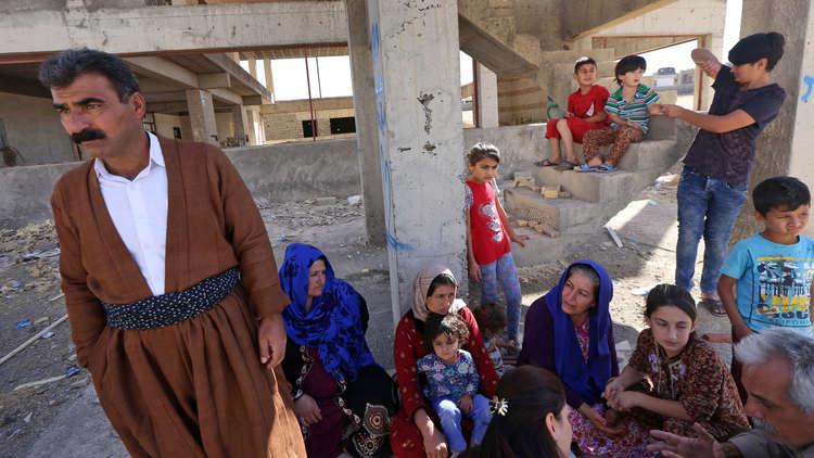 الأمم المتحدة: نزوح 183 ألف شخص من مناطق متنازع عليها بين بغداد وأربيل