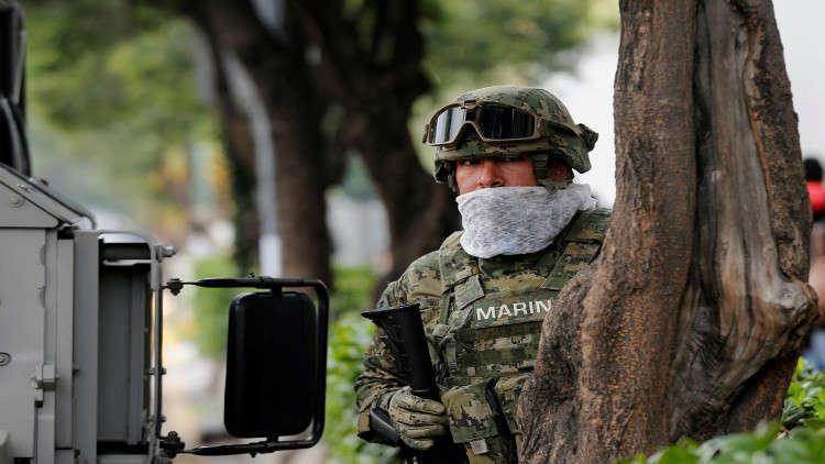 نهاية مثيرة لزعيم عصابة مكسيكية