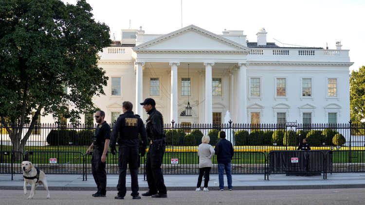 إغلاق البيت الأبيض بسبب