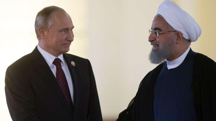طهران: بوتين بحث مع روحاني عودة العلاقات بين إيران والسعودية