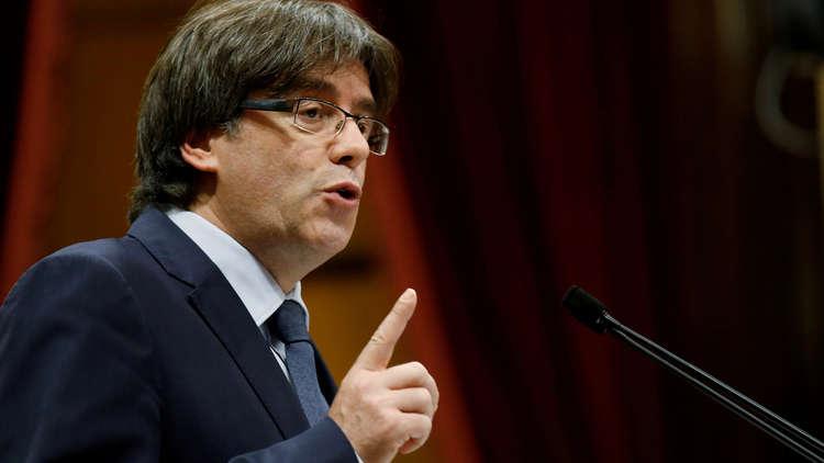 القضاء الإسباني يصدر مذكرة اعتقال أوروبية بحق بوتشديمون