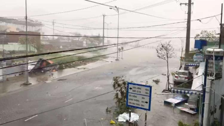 15 قتيلا و4 مفقودين جراء إعصار اجتاح فيتنام