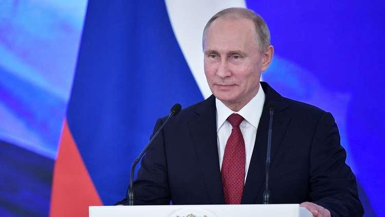 بوتين: رفض الضغط الخارجي مزروع في الشيفرة الجينية لشعبنا