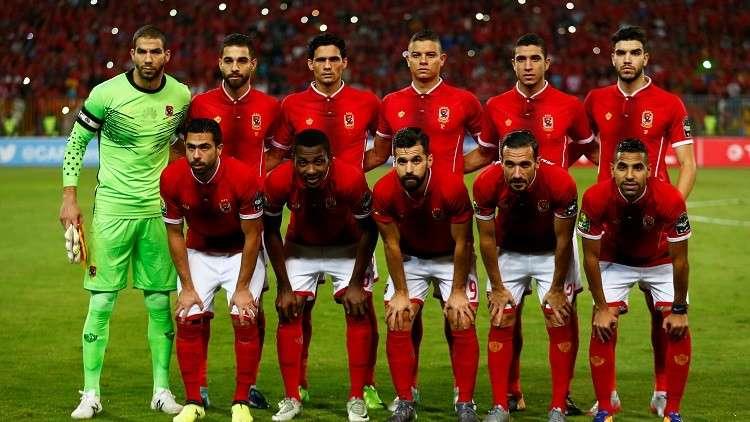 تشكيلة الأهلي وضيفه الوداد البيضاوي المغربي