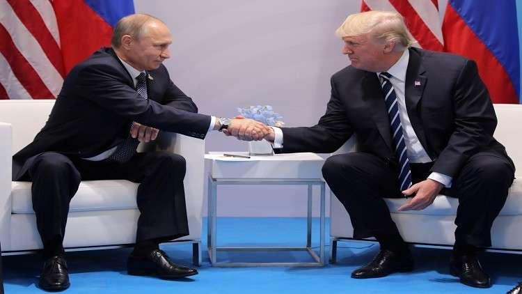 ترامب يأمل بمساعدة بوتين له في مسألة كوريا الشمالية