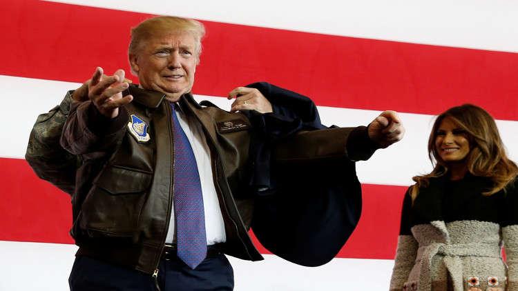 ترامب يكشف عن سر نضارته