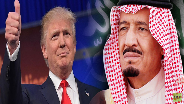 الملك سلمان لترامب: مستعدون لمساعدتكم في حربكم ضد الإرهاب