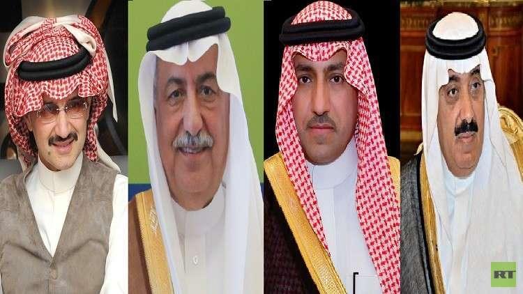 مصدر رسمي يكشف عن التهم الموجهة للأمراء المحتجزين في السعودية