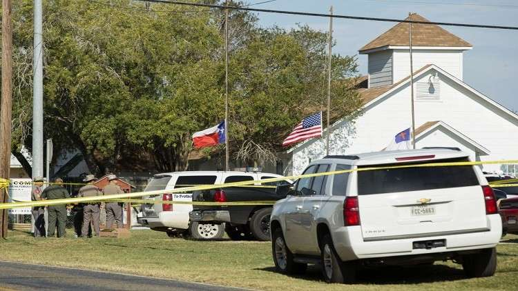 أكبر مذبحة إطلاق نار بتاريخ تكساس تحصد 26 قتيلا و20 جريحا داخل كنيسة