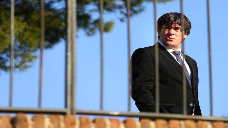 الإفراج المشروط عن زعيم كتالونيا في بلجيكا