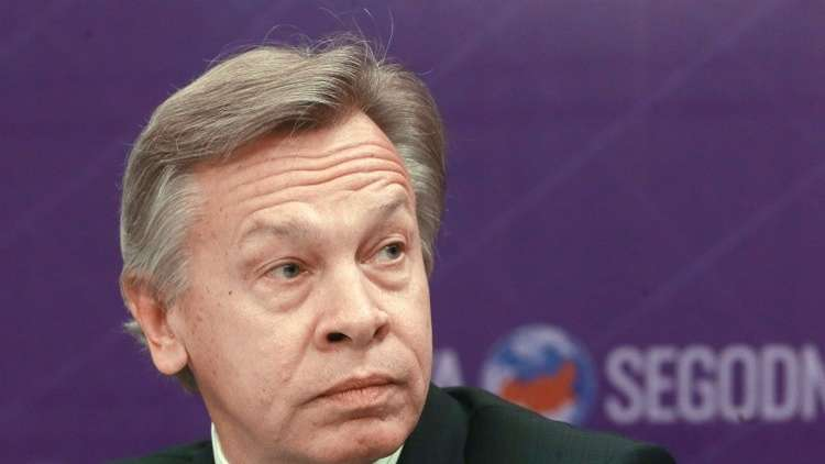 السيناتور الروسي، أليكسي بوشكوف