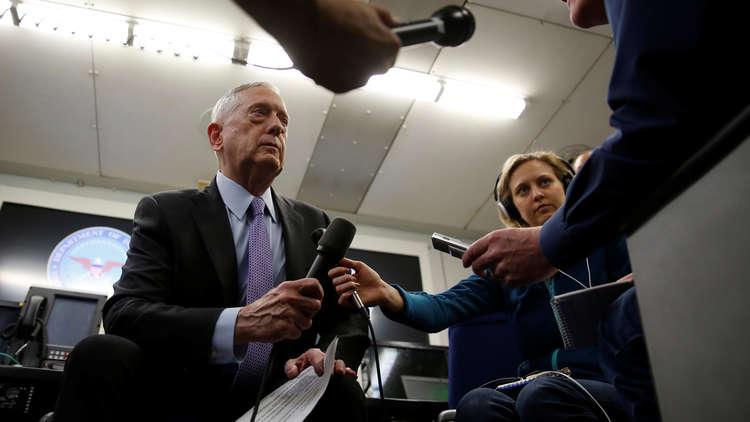 وزير الدفاع الأمريكي يؤيد عملية جنيف لإنهاء النزاع في سوريا