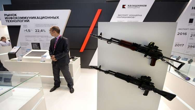 أكثر من 200 نموذج من الأسلحة الروسية في معرض للدفاع بتايلاند