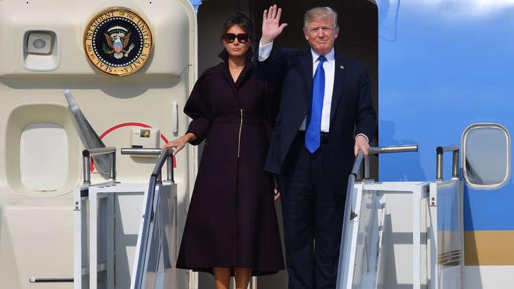 ترامب يصل إلى كوريا الجنوبية المحطة الثانية والحساسة من جولته الآسيوية