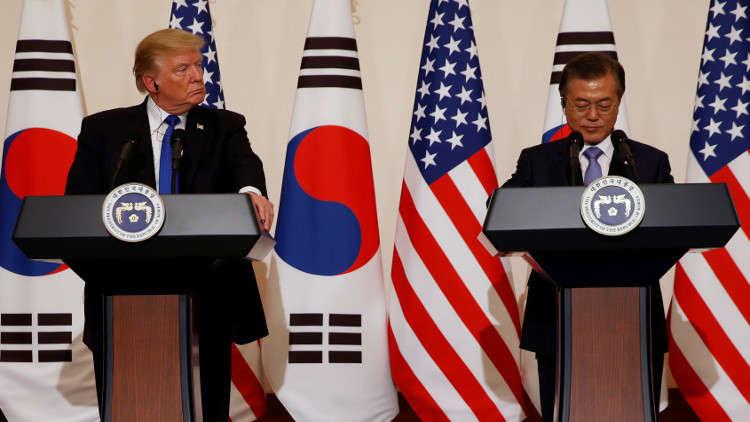 ترامب: نطلب من روسيا والصين الضغط على بيونغ يانغ لإنهاء برنامجها النووي