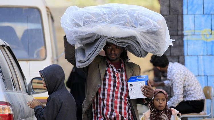 الأمم المتحدة تدعو التحالف العربي إلى فتح ممرات إنسانية لليمن