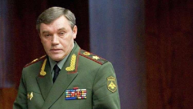 الأركان العامة الروسية: في سوريا
