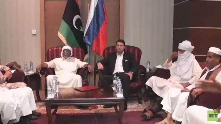 ليبيا.. روسيا تتوسط لعقد حوار بين حكومة السراج وقبائل أوباري