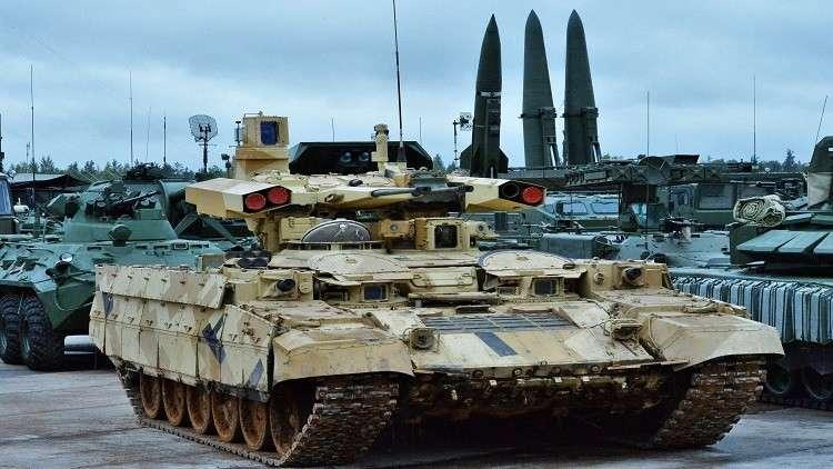 أكثر من 15 مليار دولار صادرات الأسلحة الروسية في 2017