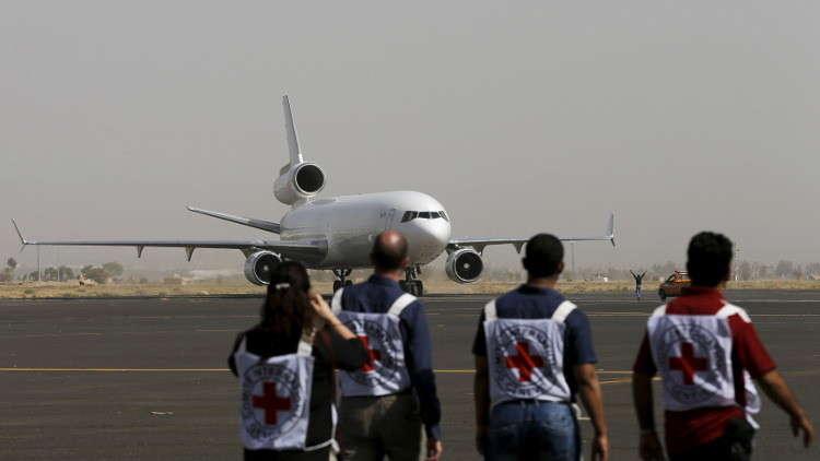 الصليب الأحمر يدعو لإبقاء حدود اليمن مفتوحة لإيصال الأدوية