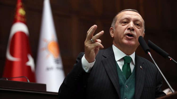 أردوغان: التطورات في المنطقة ليست عشوائية