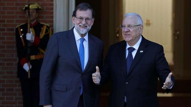 كتالونيا تهاجم الرئيس الإسرائيلي