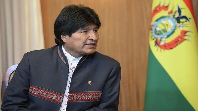 موراليس يهدد بطرد القائم بالأعمال الأمريكي لتمويله المعارضة