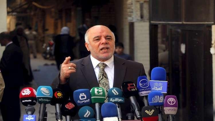 العبادي: تقليص حصة الأكراد في الميزانية ليس