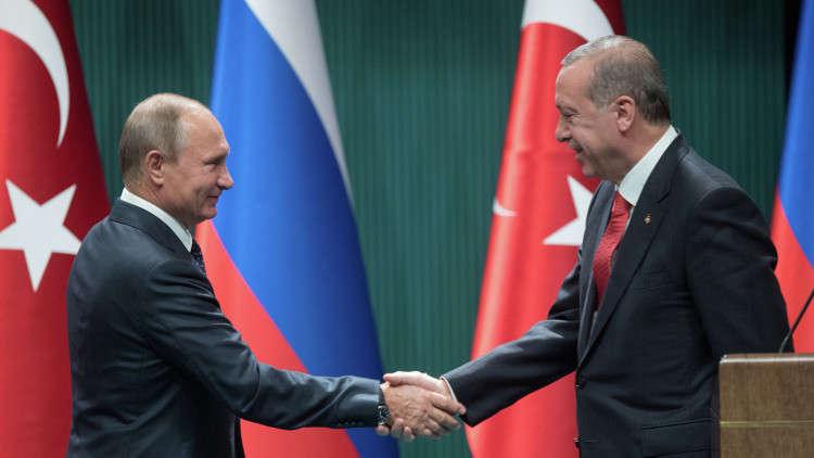 الكرملين: بوتين سيبحث مع أردوغان الاثنين عقد مؤتمر الحوار السوري