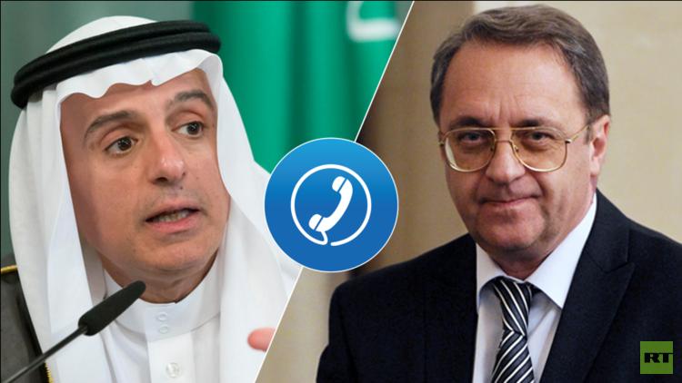 الجبير يطلع بوغدانوف على حملة مكافحة الفساد السعودية