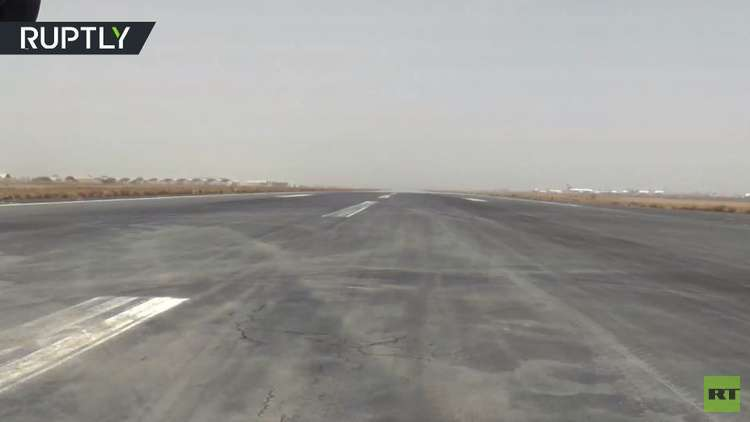 شاهد مطار صنعاء الدولي بعد إغلاقه