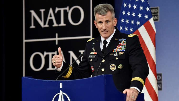 قائد بعثة الناتو