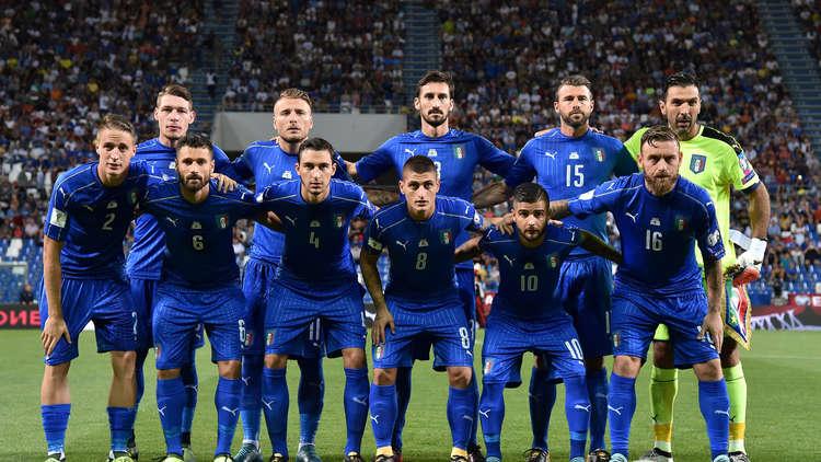 إيطاليا مهددة بالغياب عن كأس العالم 2018