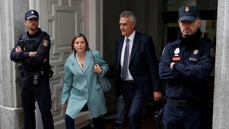 النيابة الإسبانية تطلب سجن رئيسة برلمان كتالونيا