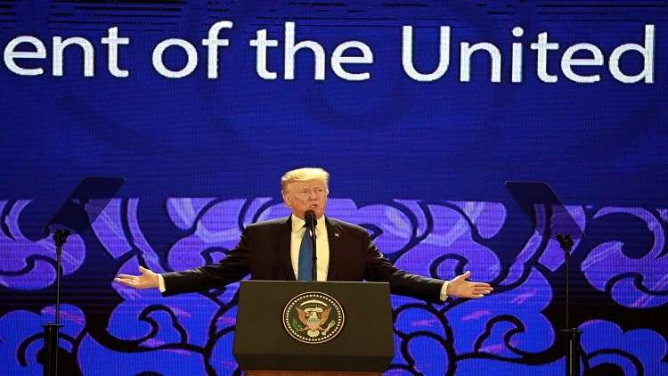 ترامب: لا يمكن أن ندع