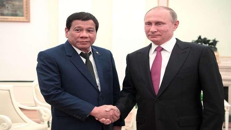 رئيس الفلبين معجب بالأسلحة الروسية ويعتزم مواصلة استيرادها