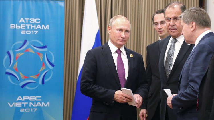 لافروف: ترامب نفسه أعرب عن رغبته في عقد لقاء مع بوتين