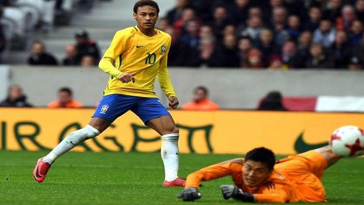 البرازيل تهزم اليابان بالثلاثة وديا